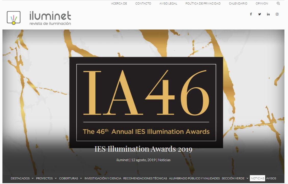 Iluminet IES Illumination Awards 2019