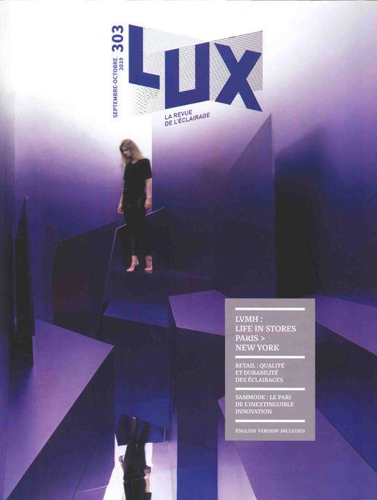 LUX Ombre, contraste et relief sont le propre du lux... et des