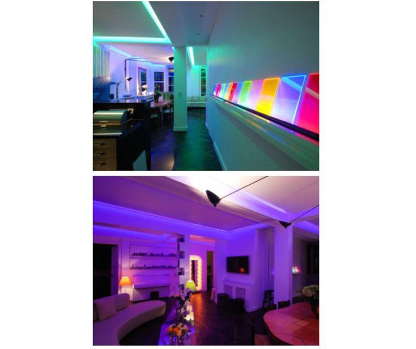 Votre habitat Un appartement parisien mis en lumière par deux artistes
