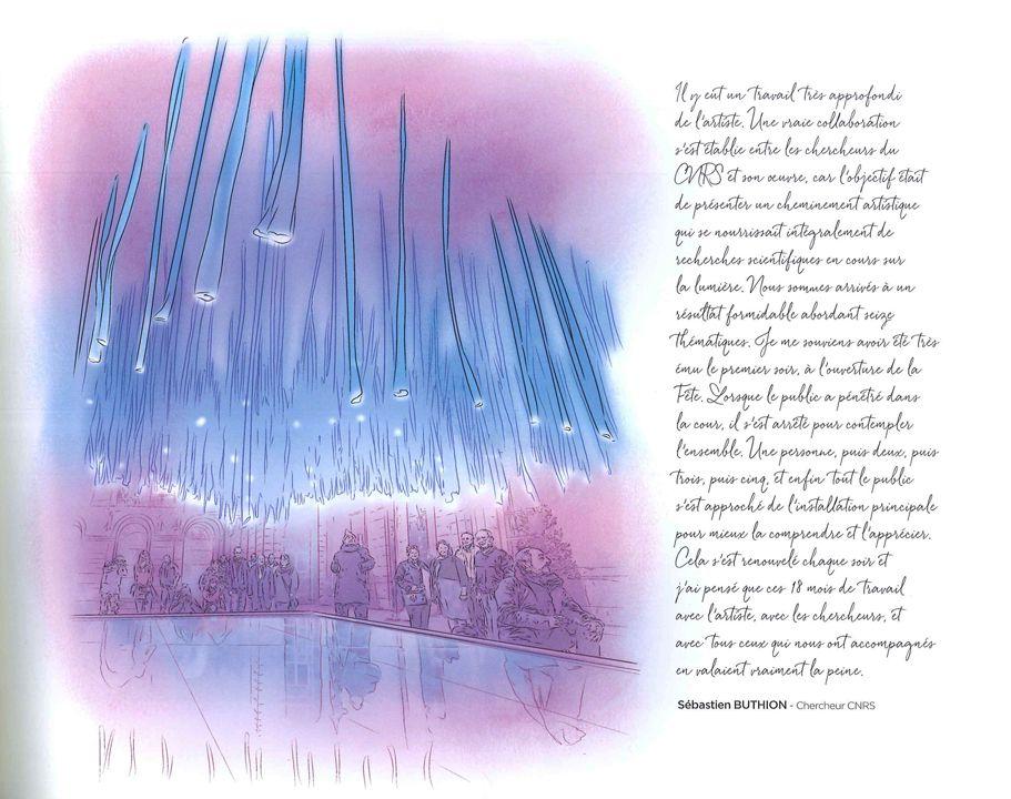 Livre officiel de la Fête des lumières LYON de l'ombre à la lumière