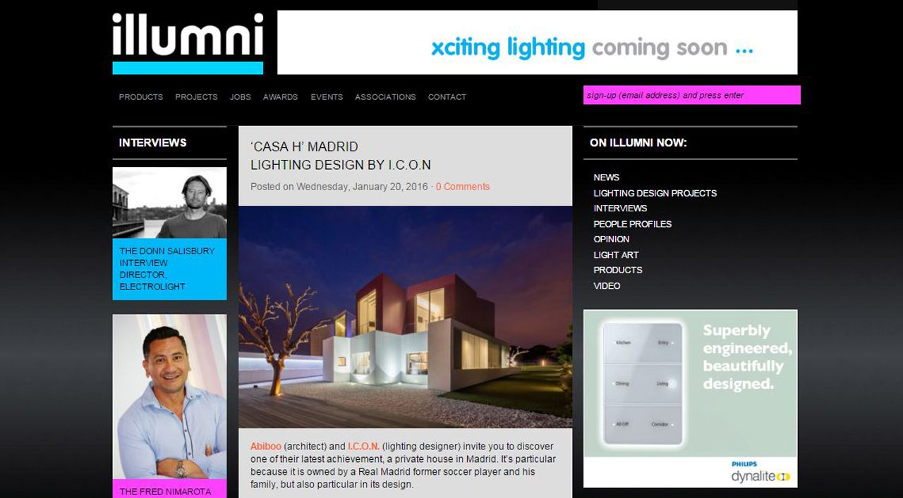 Ilumni 'Casa H' Madrid 