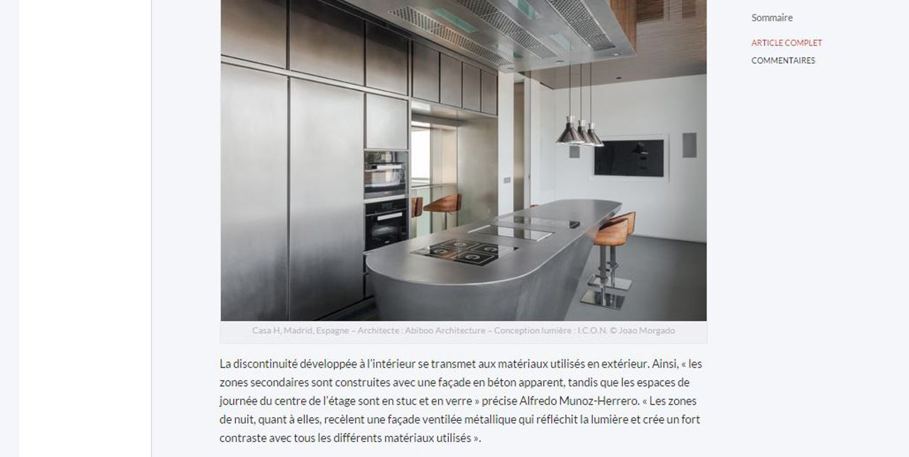Lightzoom Casa H, une maison pour footballer international