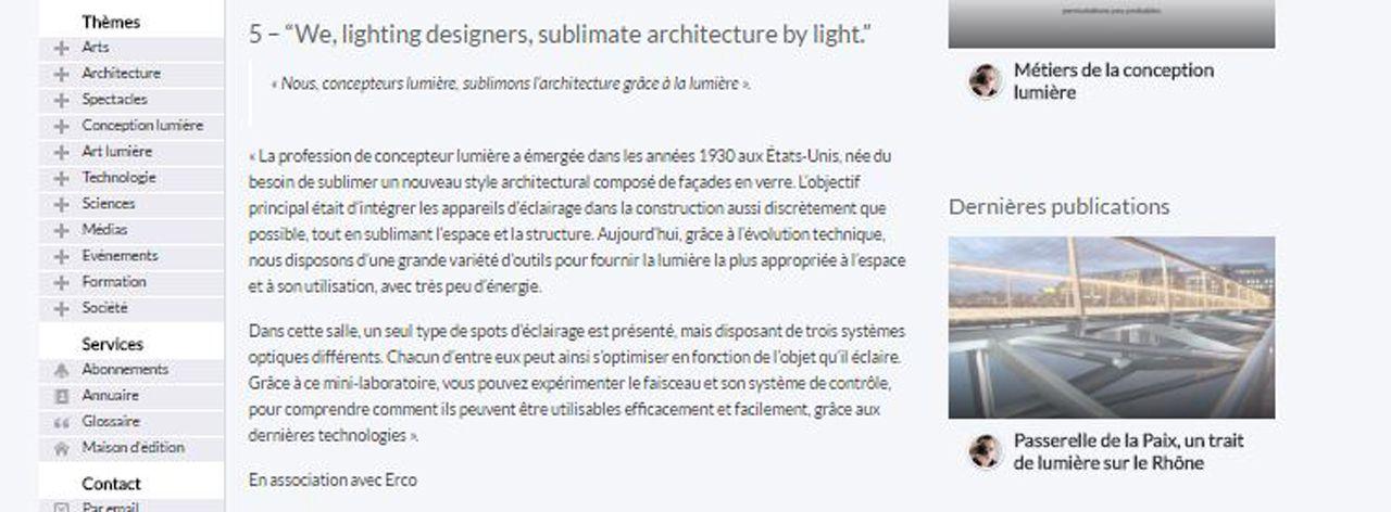 Lightzoom Light Trend 2016: What's lighting design?
