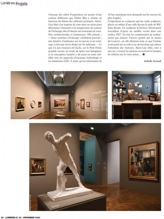 Lumières L'Age d'or de la peinture danoise au Petit Palais